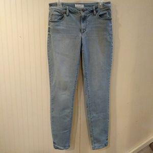 Loft curvy skinny jeans 28/6